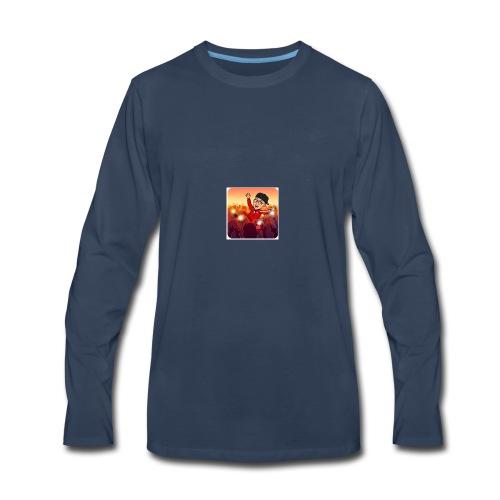 bitmoji 20180412033325 - Men's Premium Long Sleeve T-Shirt
