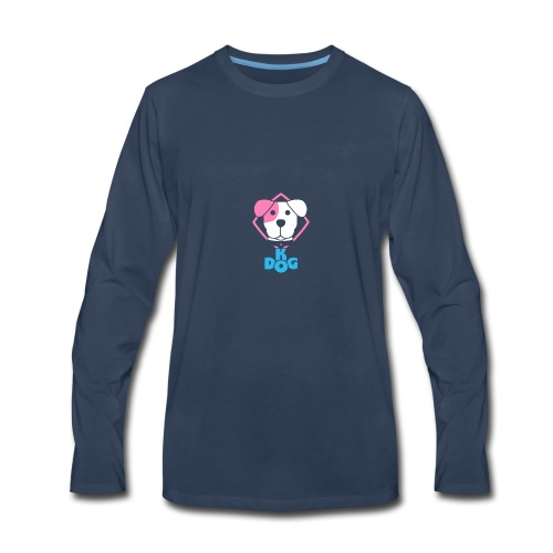Puppy {clear backround} - Men's Premium Long Sleeve T-Shirt
