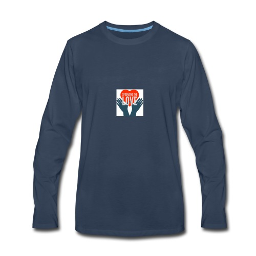 Spreading The Love - Men's Premium Long Sleeve T-Shirt