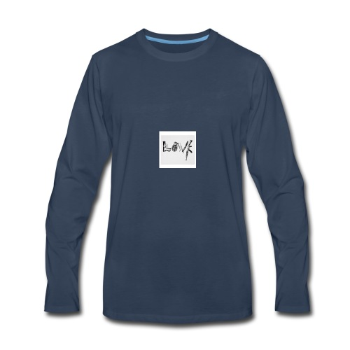 Real love - Men's Premium Long Sleeve T-Shirt