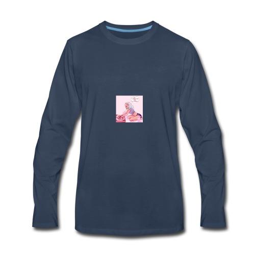 hey ghost boy are ya single - Men's Premium Long Sleeve T-Shirt