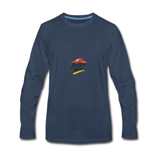 Pizza Hut 2012 logo - Men's Premium Long Sleeve T-Shirt