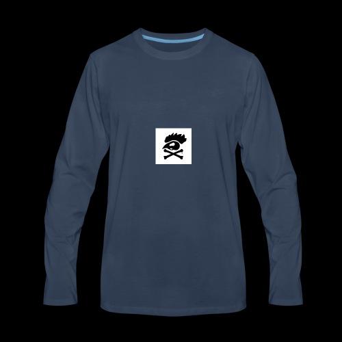 Black chicken - Men's Premium Long Sleeve T-Shirt