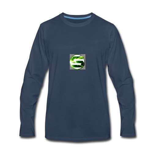 Spreadshirt_tryck_1_v2 - Men's Premium Long Sleeve T-Shirt
