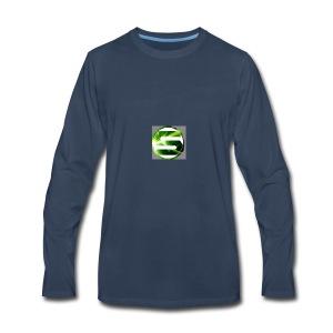 Spreadshirt_tryck_1_v2 - Men's Premium Long Sleeve T-Shirt