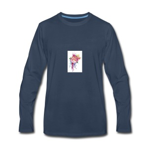 Bloom where you are planted - Men's Premium Long Sleeve T-Shirt