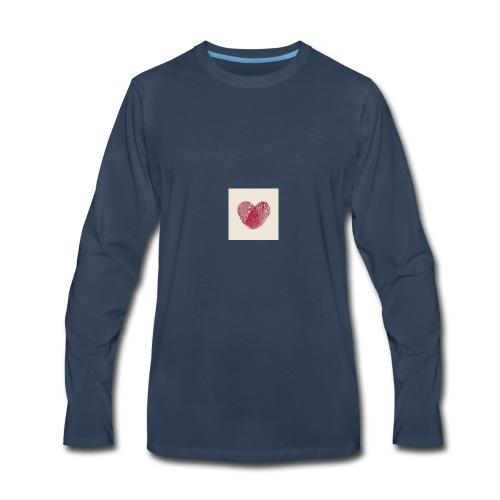 Heart Collection - Men's Premium Long Sleeve T-Shirt