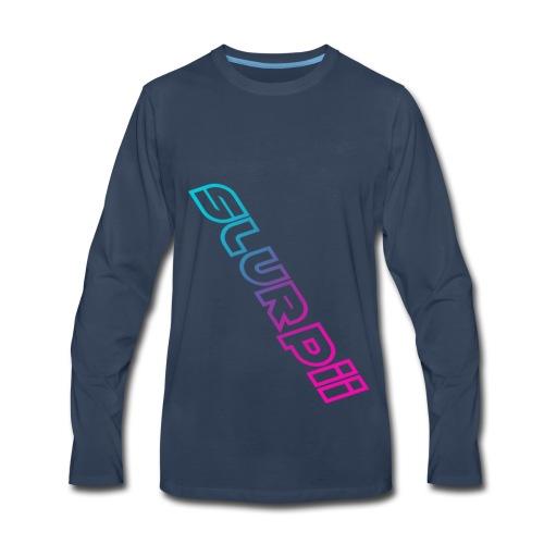 Slurpii Logo V2 - Men's Premium Long Sleeve T-Shirt