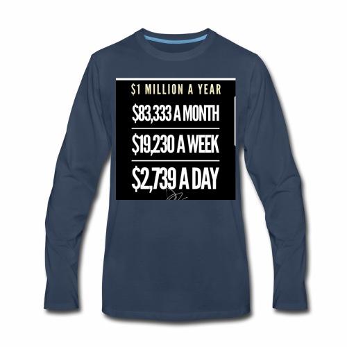 Million Dollar Tee - Men's Premium Long Sleeve T-Shirt