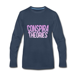 Women's - ConspiraTheories Official T-Shirt - Men's Premium Long Sleeve T-Shirt