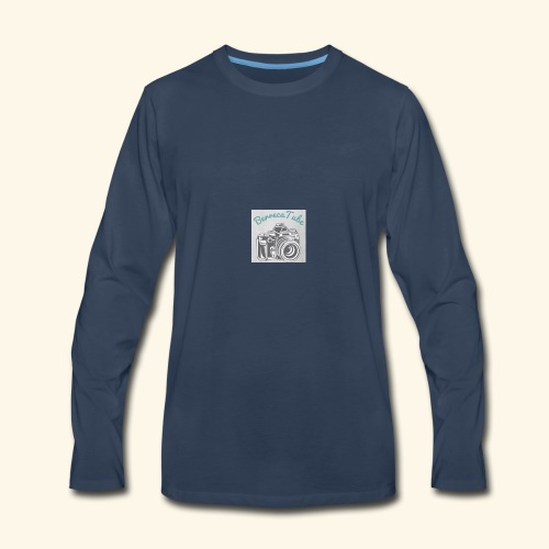 My Logo - Men's Premium Long Sleeve T-Shirt