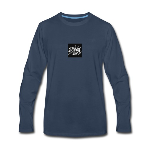 SAVAGE SQUAD - Men's Premium Long Sleeve T-Shirt