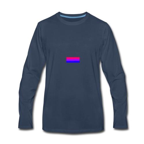 Bisexual Flag - Men's Premium Long Sleeve T-Shirt
