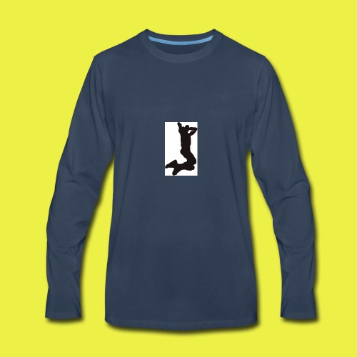 Rise up to the top Logo - Men's Premium Long Sleeve T-Shirt