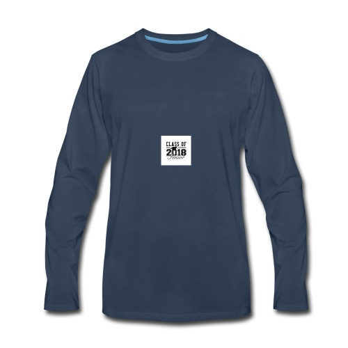 class_of_2018_senior_postcard-r6868f260cd9146588aa - Men's Premium Long Sleeve T-Shirt