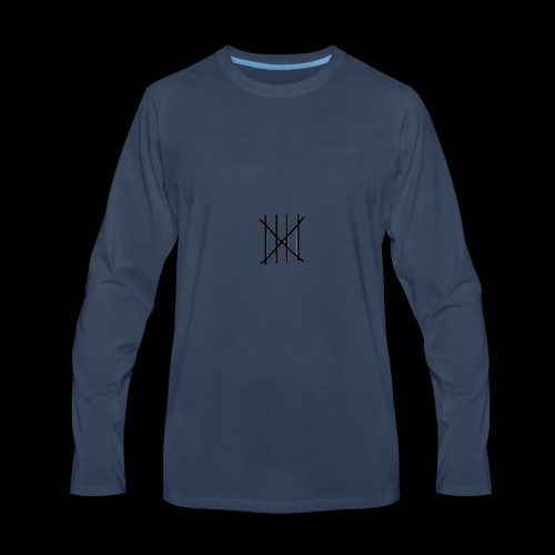 Talley's Logo - Men's Premium Long Sleeve T-Shirt