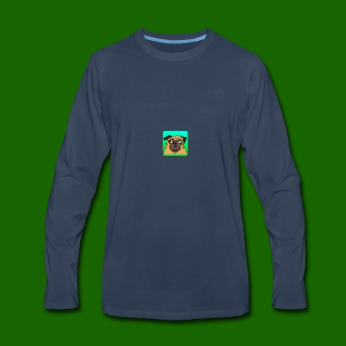 TheBratPug TEAM PLAYER - Men's Premium Long Sleeve T-Shirt