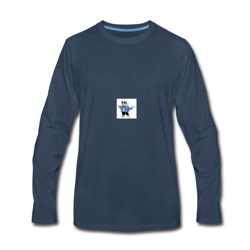 undertale-sans i hope you like it - Men's Premium Long Sleeve T-Shirt