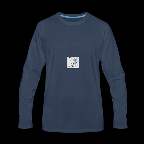 Music Mic - Men's Premium Long Sleeve T-Shirt