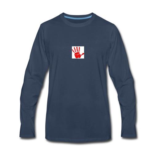 Victory high five - Men's Premium Long Sleeve T-Shirt