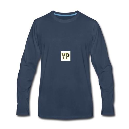 yellow peanuts - Men's Premium Long Sleeve T-Shirt