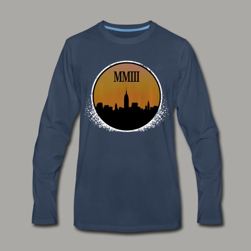 Blackout (Weathered) - Men's Premium Long Sleeve T-Shirt