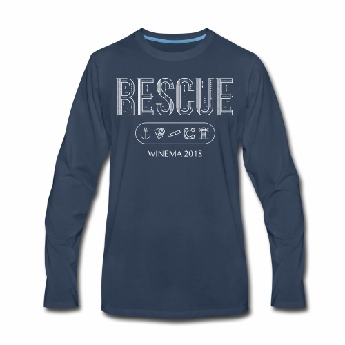 Winema 2nd High School Camp (RESCUE) - Men's Premium Long Sleeve T-Shirt