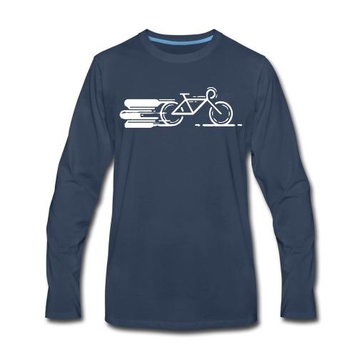 Cycling T Shirt - Men's Premium Long Sleeve T-Shirt