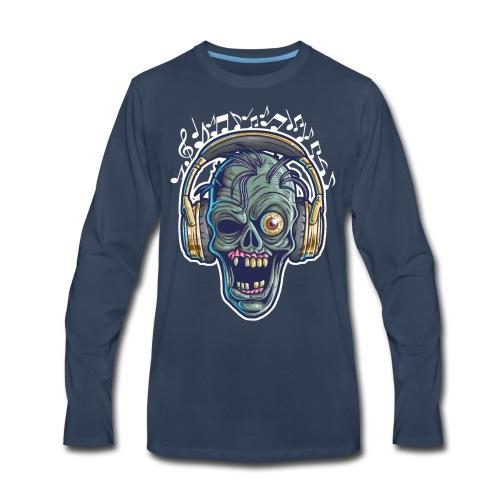 HIP HOP ZOMBIE - Men's Premium Long Sleeve T-Shirt