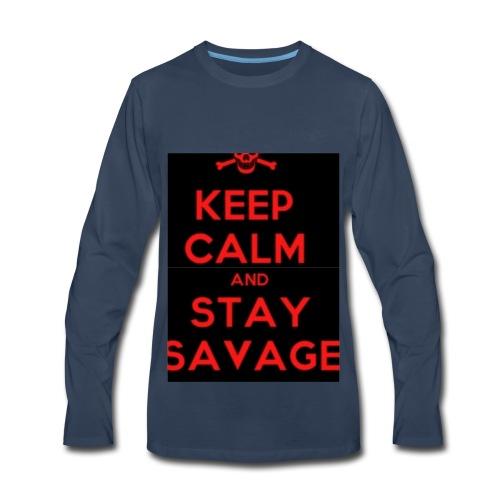 stay savage - Men's Premium Long Sleeve T-Shirt