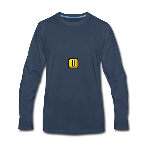 Overstride logo - Men's Premium Long Sleeve T-Shirt