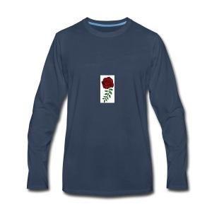 Rose Design - Men's Premium Long Sleeve T-Shirt