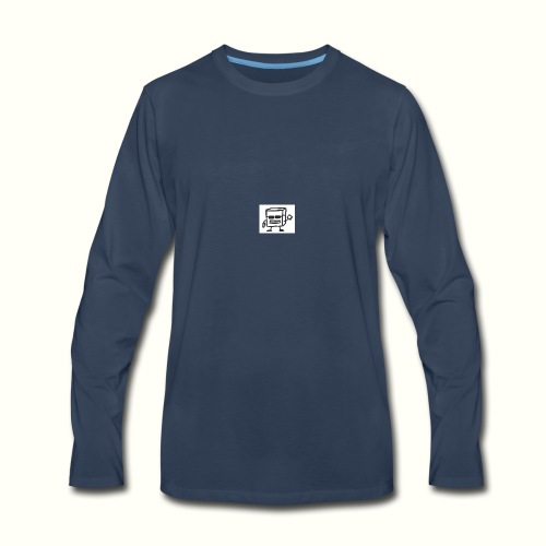 None - Men's Premium Long Sleeve T-Shirt