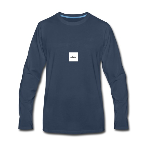mom - Men's Premium Long Sleeve T-Shirt