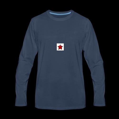 temper - Men's Premium Long Sleeve T-Shirt