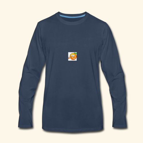 OrangeJuice - Men's Premium Long Sleeve T-Shirt
