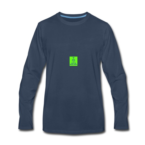 Pickle Army - Men's Premium Long Sleeve T-Shirt