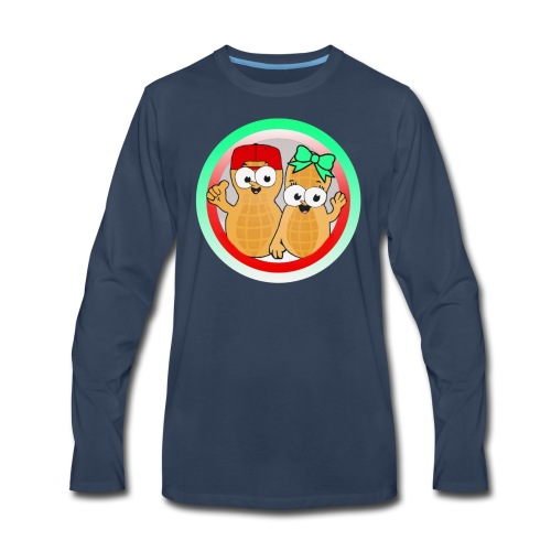 CoupleofNutts - Men's Premium Long Sleeve T-Shirt