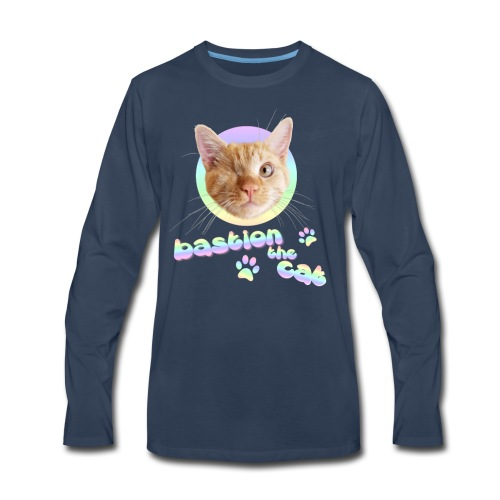 Bastion the Cat - Men's Premium Long Sleeve T-Shirt