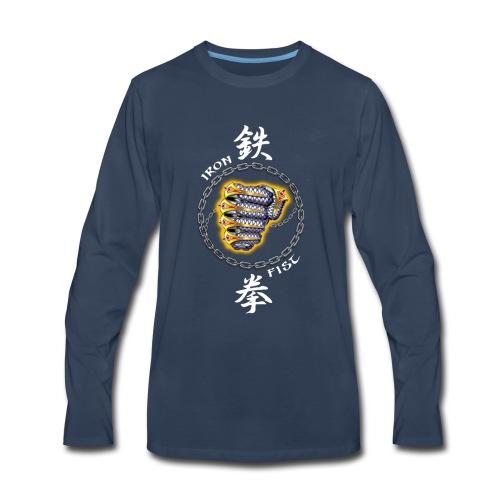 IRON FIST 01 - Men's Premium Long Sleeve T-Shirt