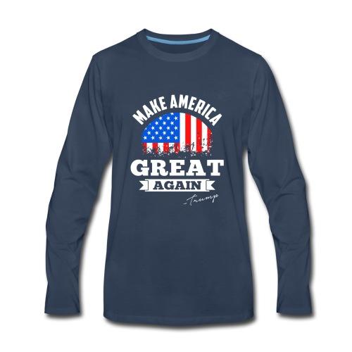 MAGA - Trump - Men's Premium Long Sleeve T-Shirt