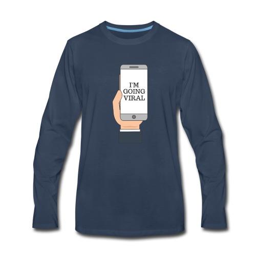 Going Viral - Men's Premium Long Sleeve T-Shirt