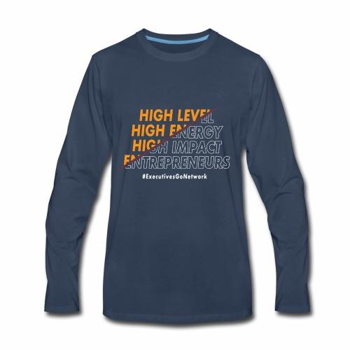 Entrepreneur Motivation! - Men's Premium Long Sleeve T-Shirt
