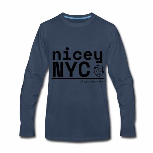 NiceyNYC Swag - Men's Premium Long Sleeve T-Shirt