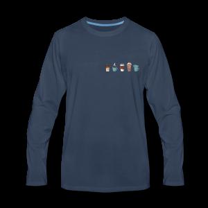 Coffee - Men's Premium Long Sleeve T-Shirt