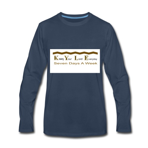 DONE_CD_151_001 - Men's Premium Long Sleeve T-Shirt