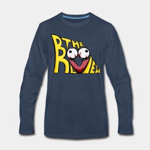 The Boo Review Icon - Men's Premium Long Sleeve T-Shirt