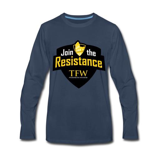 TFW VECTOR - Men's Premium Long Sleeve T-Shirt