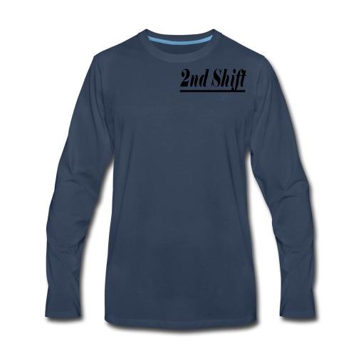 2nd Shift Review - Men's Premium Long Sleeve T-Shirt