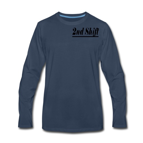 2nd Shift Review - Men's Premium Long Sleeve T-Shirt